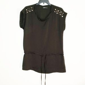 Apt. 9® Studded Tunic with Drawcord